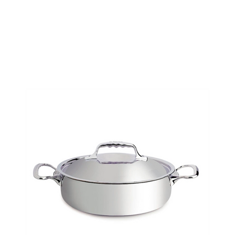 de Buyer Affinity Stainless Steel Casserole Pan w/Lid, 3.17-qt - Kitchen Universe