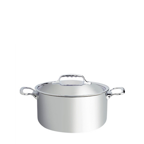 de Buyer Affinity Stainless Steel Stewpan w/Lid - Kitchen Universe