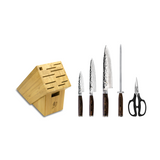 Shun Premier 7-Piece Essential Knife Block Set