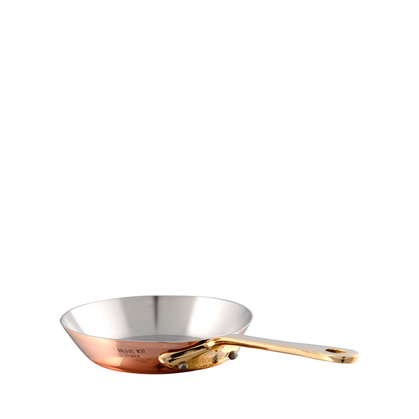 Mauviel M'mini Copper & Bronze Round Frying Pan, 4.8-in