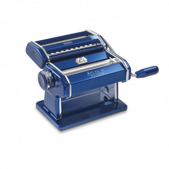 Marcato Atlas 150 Pasta Machine, Blue - Kitchen Universe