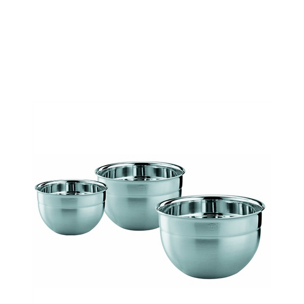 Rosle Deep Stainless Steel Bowls, Set of 3