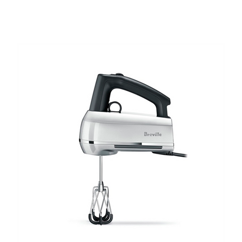 Breville Handy Mix Scraper Hand Mixer, Silver - Kitchen Universe