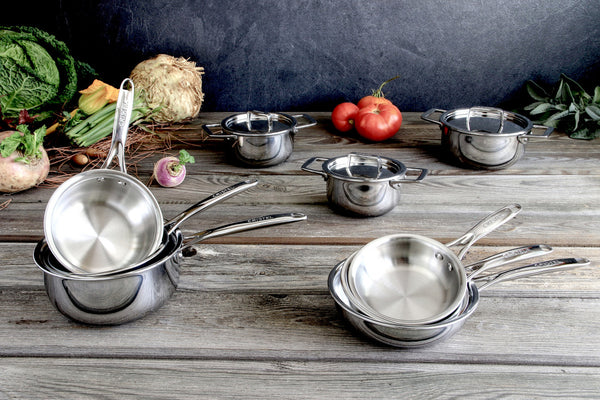 Cristel Castel´Pro Frypan Ultraply Stainless Steel - Kitchen Universe
