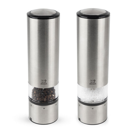 Peugeot Elis Sense u' Select Stainless Pepper & Salt Mill Set - Kitchen Universe