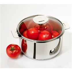 Cristel Multiply Casteline Stainless Stew / Casserole Pan With Lid - Kitchen Universe