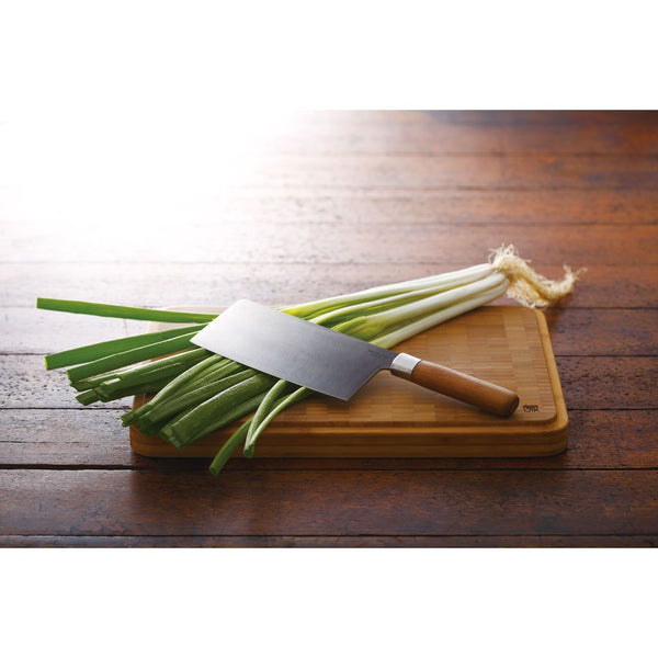"JIA Sino Cleaver Knive With Bamboo Handle, 11.6""-in - Kitchen Universe"