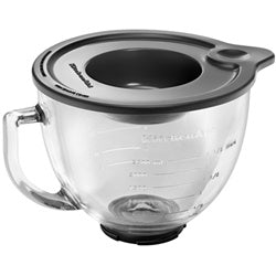 KitchenAid 5-Qt Glass Bowl with Measurement Markings