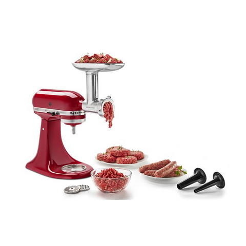 KitchenAid Stand Mixer Metal Food Grinder Attachment - Kitchen Universe