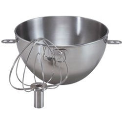 KitchenAid 3 Qt Stainless Steel Bowl and Combi-Whip