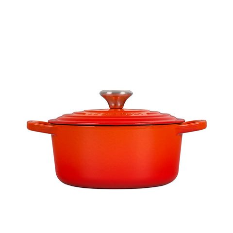 Le Creuset Signature Enameled Cast Iron French / Round Dutch Oven, 2 qt. Flame