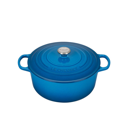 Le Creuset Signature Enameled Cast Iron French / Round Dutch Oven, 9 qt. Marseille