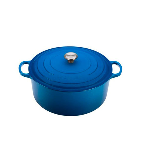 Le Creuset Signature Enameled Cast Iron French / Round Dutch Oven, 13.25 qt. Marseille