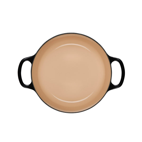 Le Creuset Signature Enameled Cast Iron Round Braiser, 2.25 qt. Licorice