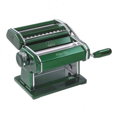 Marcato Atlas 150 Pasta Machine, Green - Kitchen Universe