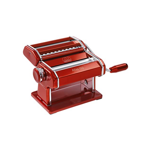 Marcato Atlas 150 Pasta Machine, Red