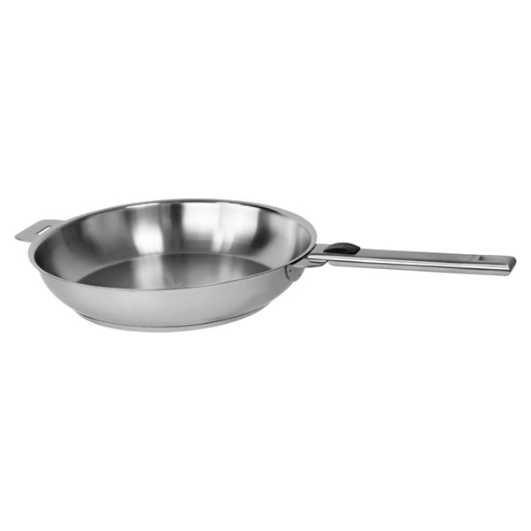 Cristel Strate L Brushed Stainless Steel Fry Pan