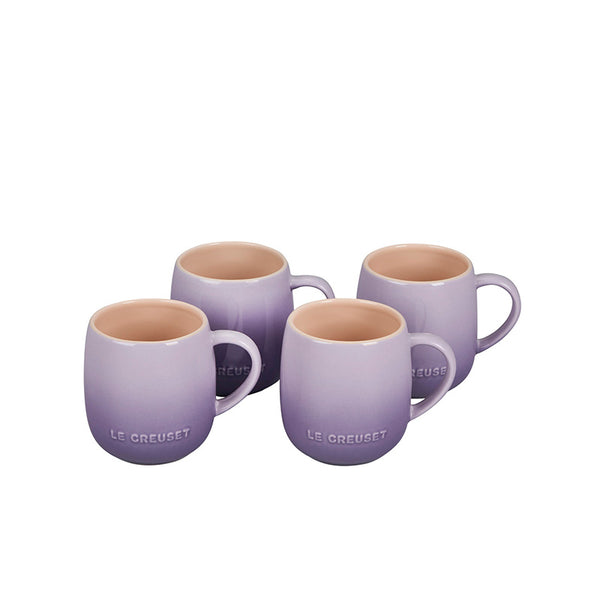 Le Creuset Heritage Stoneware Mugs Set of 4, 13-oz, Provence - Kitchen Universe