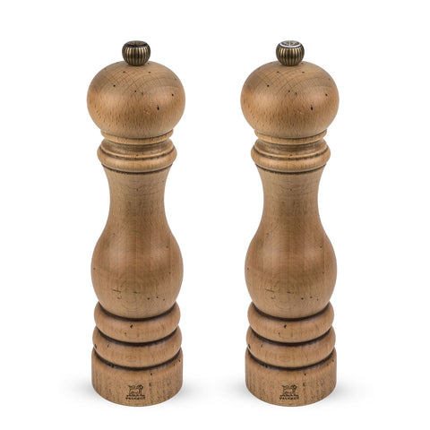 Peugeot Paris Antique Pepper & Salt Mill Set,  9-in - Kitchen Universe