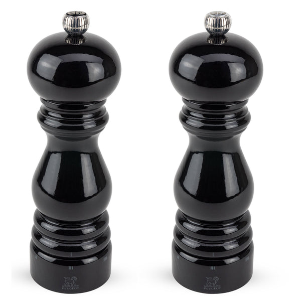 Peugeot Paris u'Select Pepper & Salt Mill, Black Lacquer 7-in