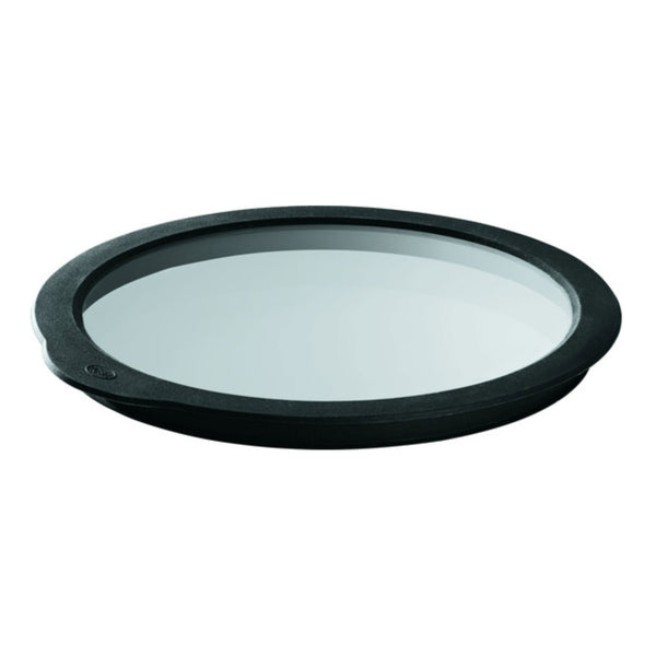 Rosle Glass Lid with Silicone Rim, 8-in - Kitchen Universe
