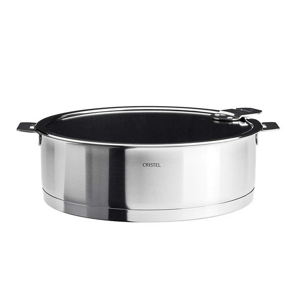 Cristel Strate Stainless Saute Pan - Kitchen Universe