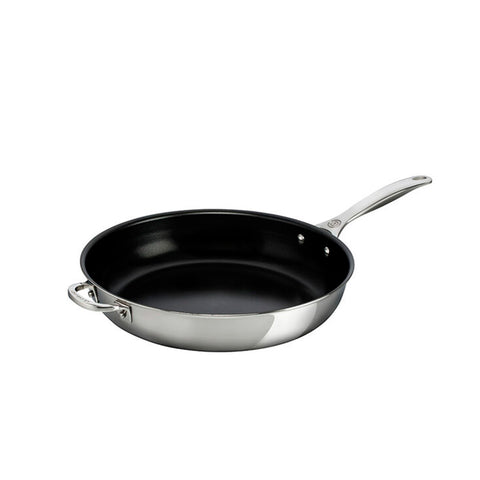 Le Creuset 3-Ply Stainless Steel Nonstick Deep Fry Pan 12 In. - Kitchen Universe