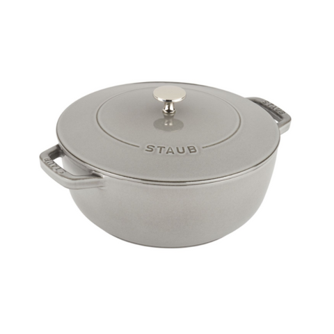 Staub Cast Iron Essential Oven, 3.75 qt, Graphite Grey - Kitchen Universe