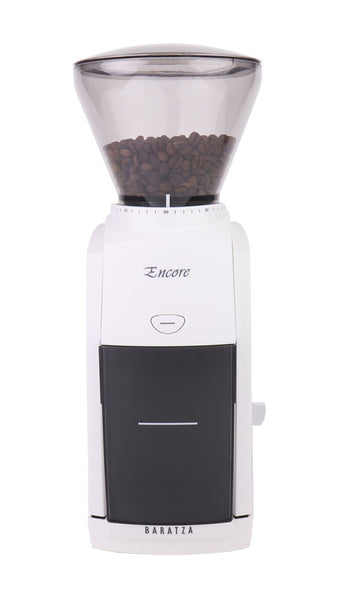 Baratza Encore Conical Burr Coffee Grinder, White