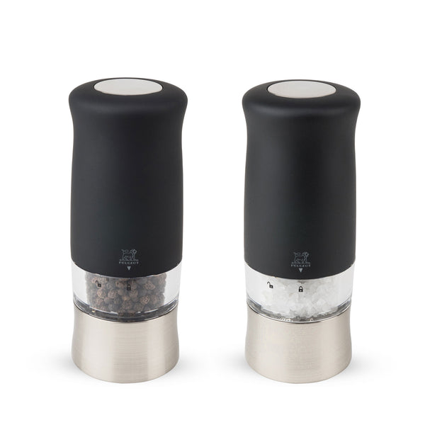 Peugeot Zephir Electric Pepper and Salt Mill Set, 5.5-in - Kitchen Universe