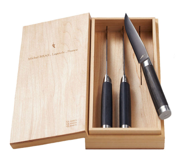 Michel Bras 3-Piece Steak Knife Set