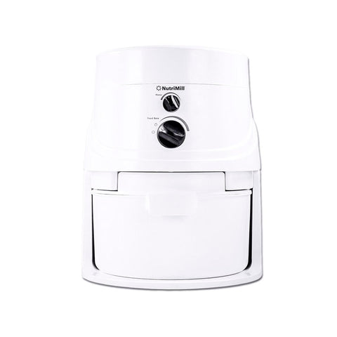 NutriMill Classic High Speed Grain Mill, White - Kitchen Universe