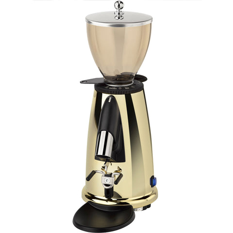 Elektra MSD On Demand Stepless Doserless Espresso Burr Coffee Grinder, Brass - Kitchen Universe