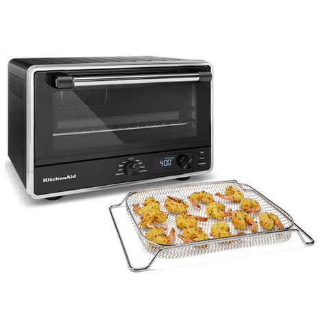KitchenAid Digital Countertop Oven with Air Fry, Matte Black - Kitchen Universe