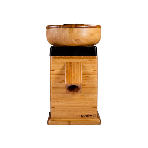 Nutrimill Harvest Grain Mill - Black Trim - Kitchen Universe