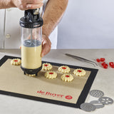 de Buyer Le Tube Pressure Pastry Syringe and Cookie Press