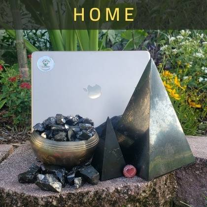 Shungite Home Decor - Pyramids and More