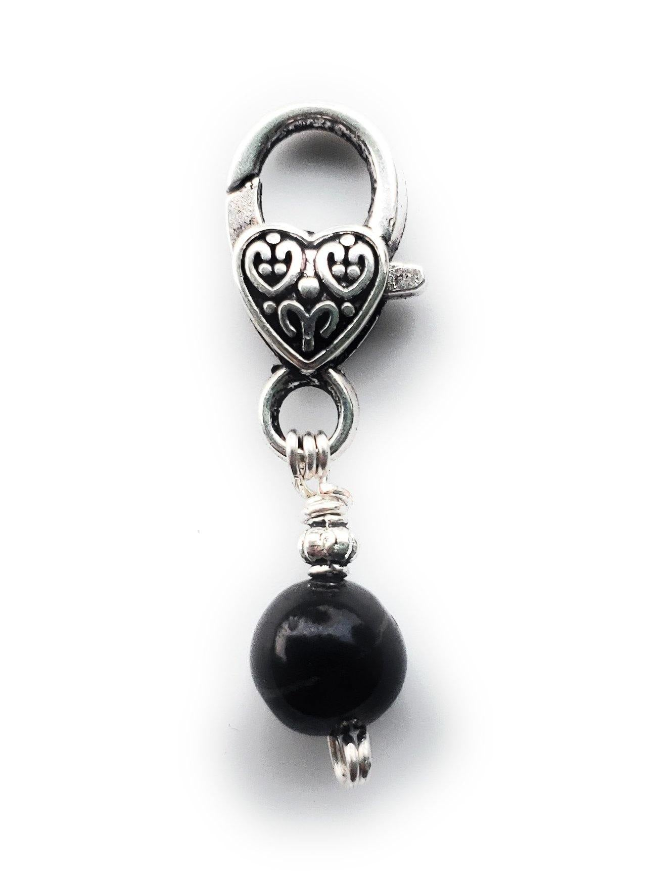 Pet Collar Shungite Charm (Toy/Extra Small)