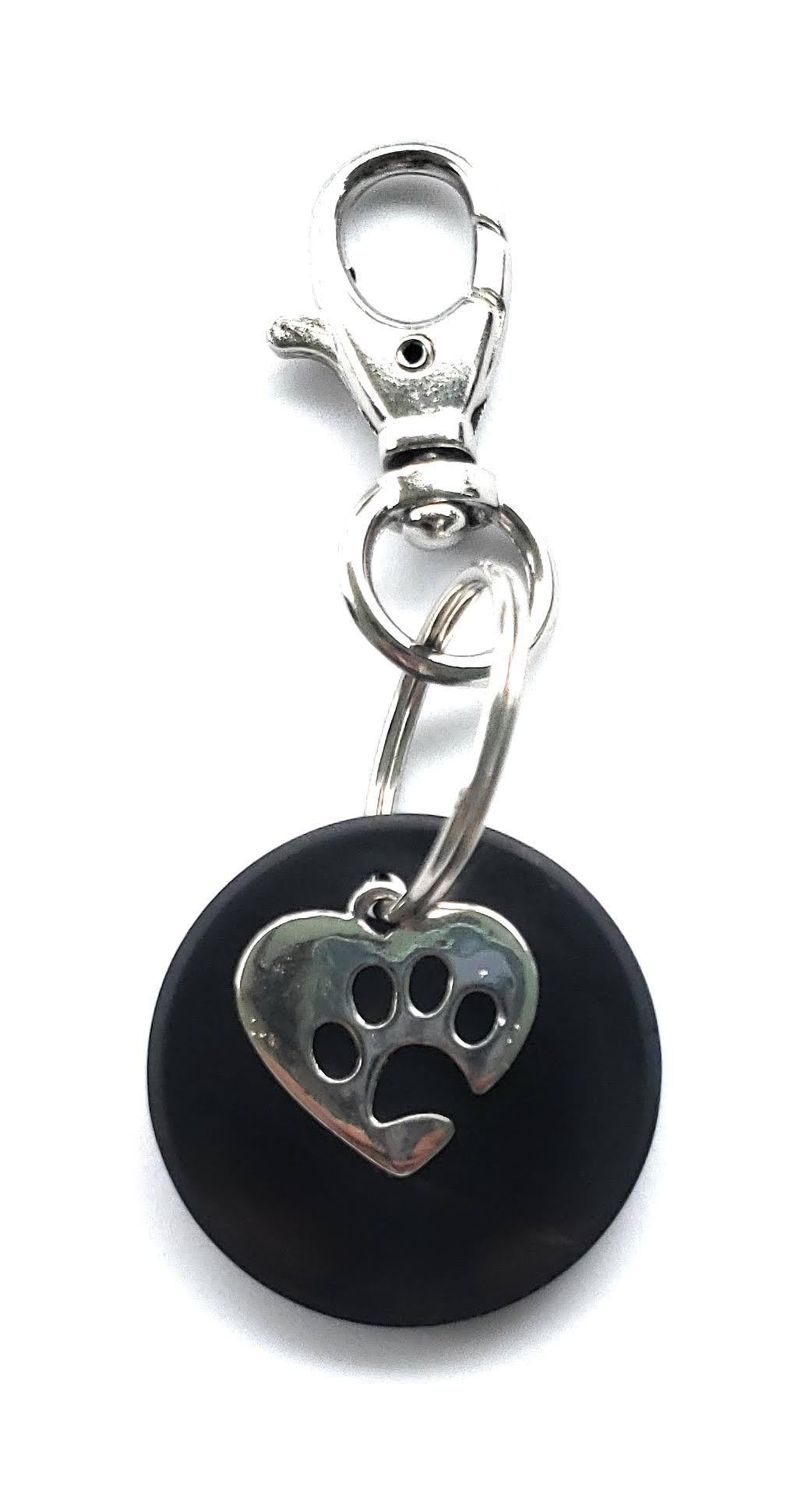 Pet Collar Shungite Charm (Large/Extra Large)
