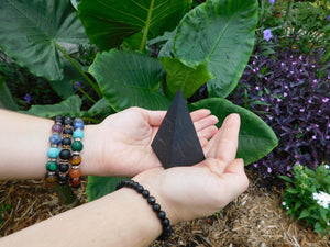 Shungite Bundle: Supercharged 5G EMF Protection Kit - Bonus: Free Shungite Heart Cell Phone Disk