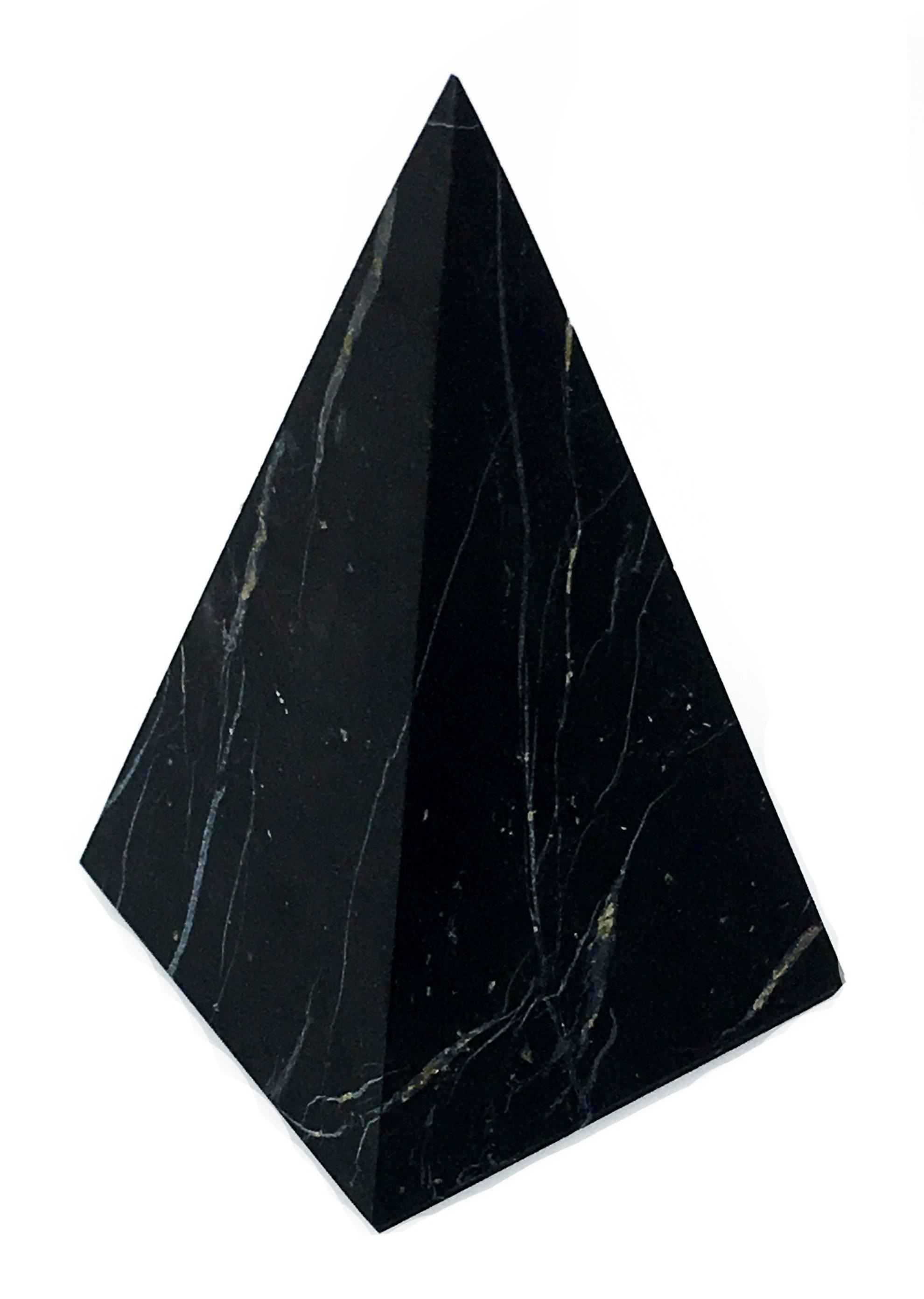 3.5 inch Shungite Pyramid Polished