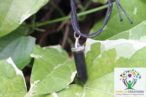 6-Point Hexagonal Shungite Pendant Necklace - Karelia Creations