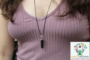 6-Point Hexagonal Shungite Pendant Necklace