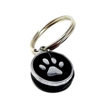 CLEARANCE - Shungite Paw Charm Key Chain or Backpack Charm - Karelia Creations
