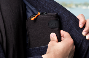 Man with ONGROK Smell-Proof Wallet