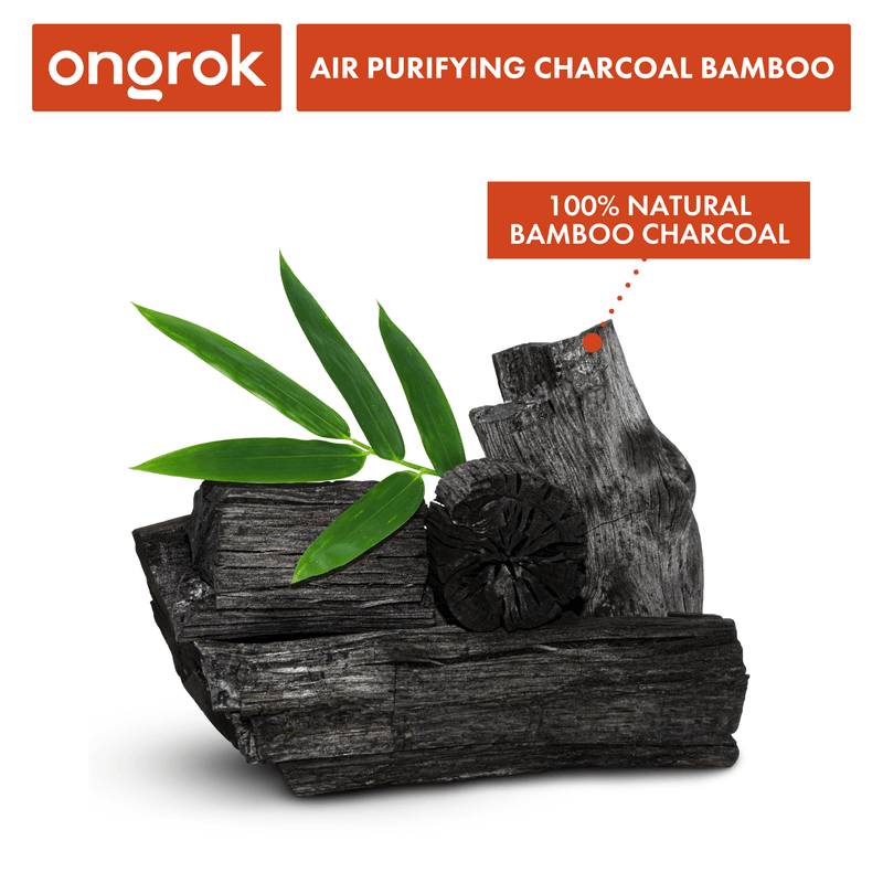 ONGROK All-Natural Air Purifying Charcoal Bamboo Bags