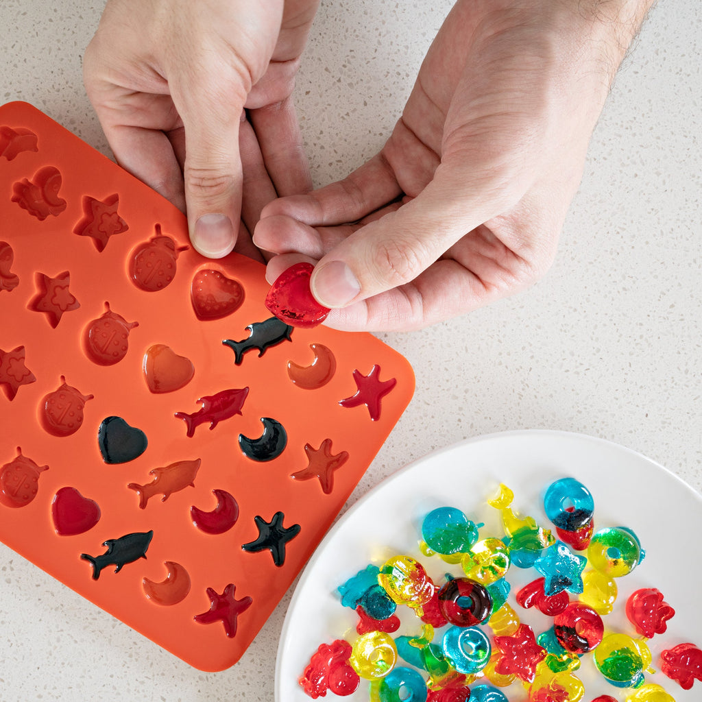 ONGROK Mini Gummy Mold Kit | 3 mini trays