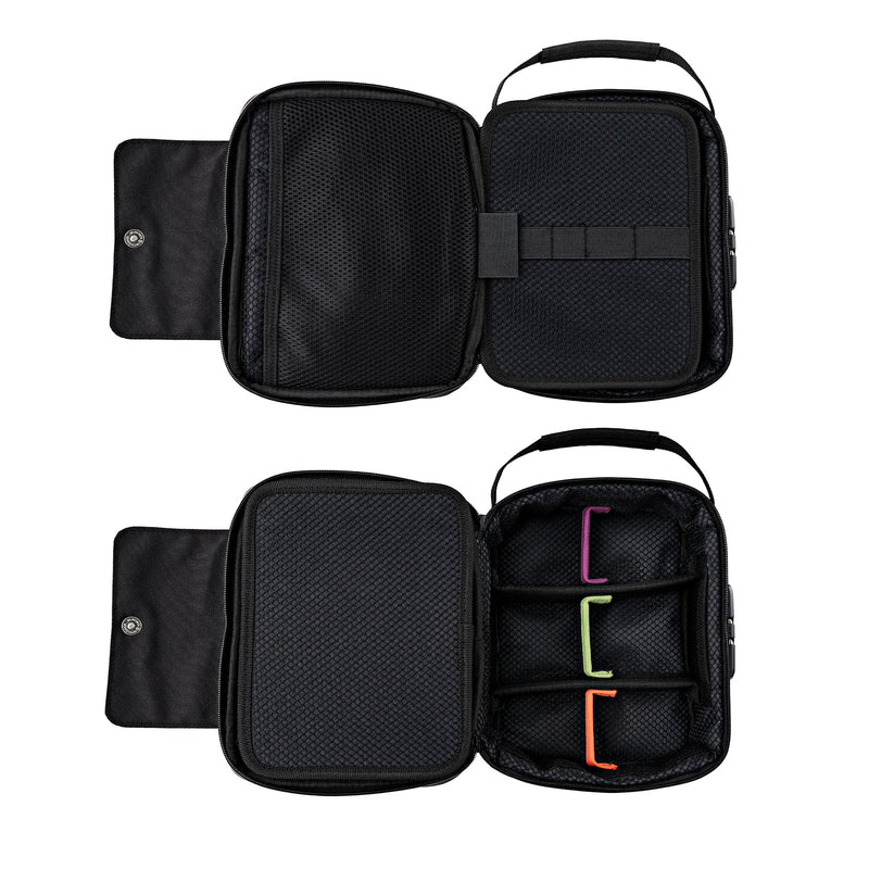 ONGROK's Large Smell Proof Case with Combo Lock and Dividers