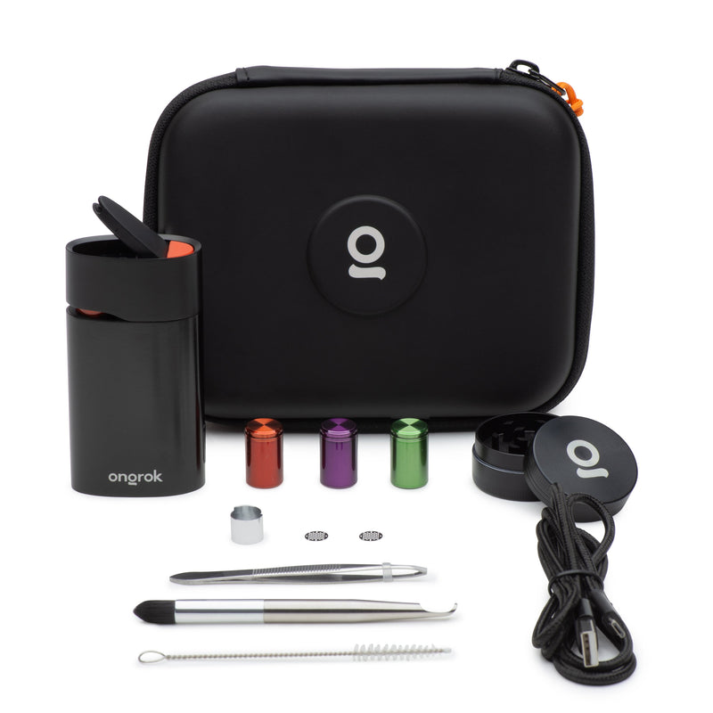 ONGROK 2-in-1 Vaporizer Kit | Titanium Chamber and  4 pre-set temperature functions