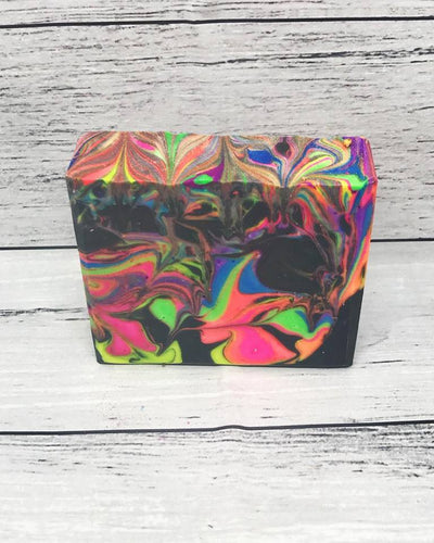 Colourful Vanilla Bean Soap Bar for Kids (AND Adults!!)- 115g